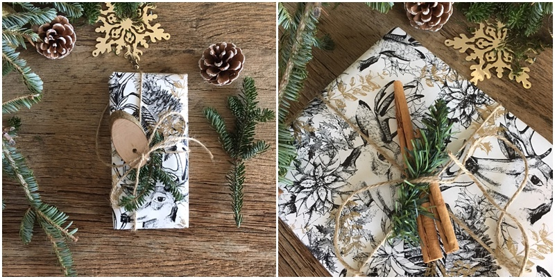 Wrapping up for Christmas – Easy crafty inspiration