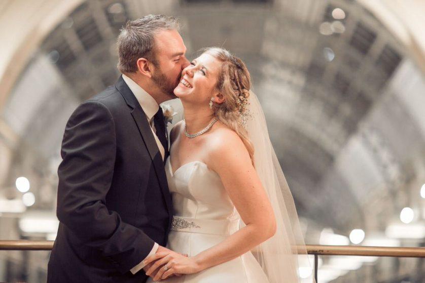 Ellena + Adrian's lovely wedding at The Tea Room in Sydney, Australia.