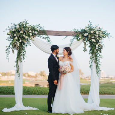 A sneak peek at Nadia + Ahmed's Lovely Wedding in Dubai