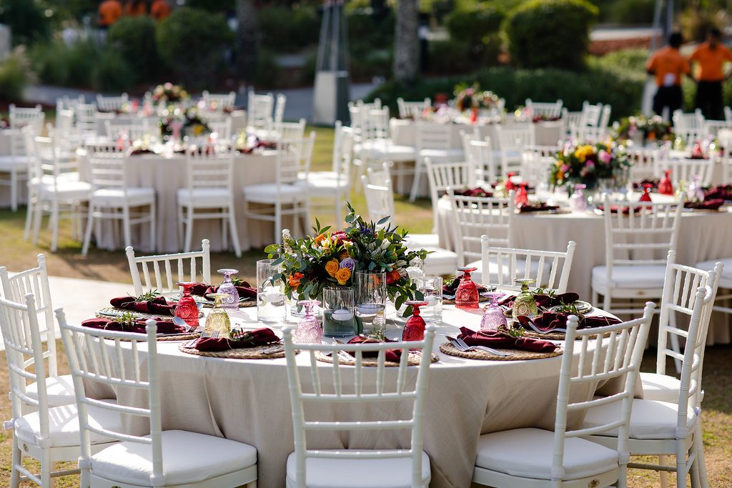 Luma + Abdul's Colourful Montgomerie Wedding